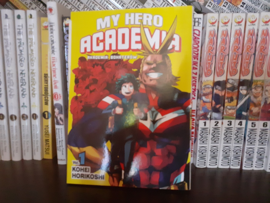 """""""My Hero Academia"""" Tom I – Witajcie w nowym świeciebohaterów"""
