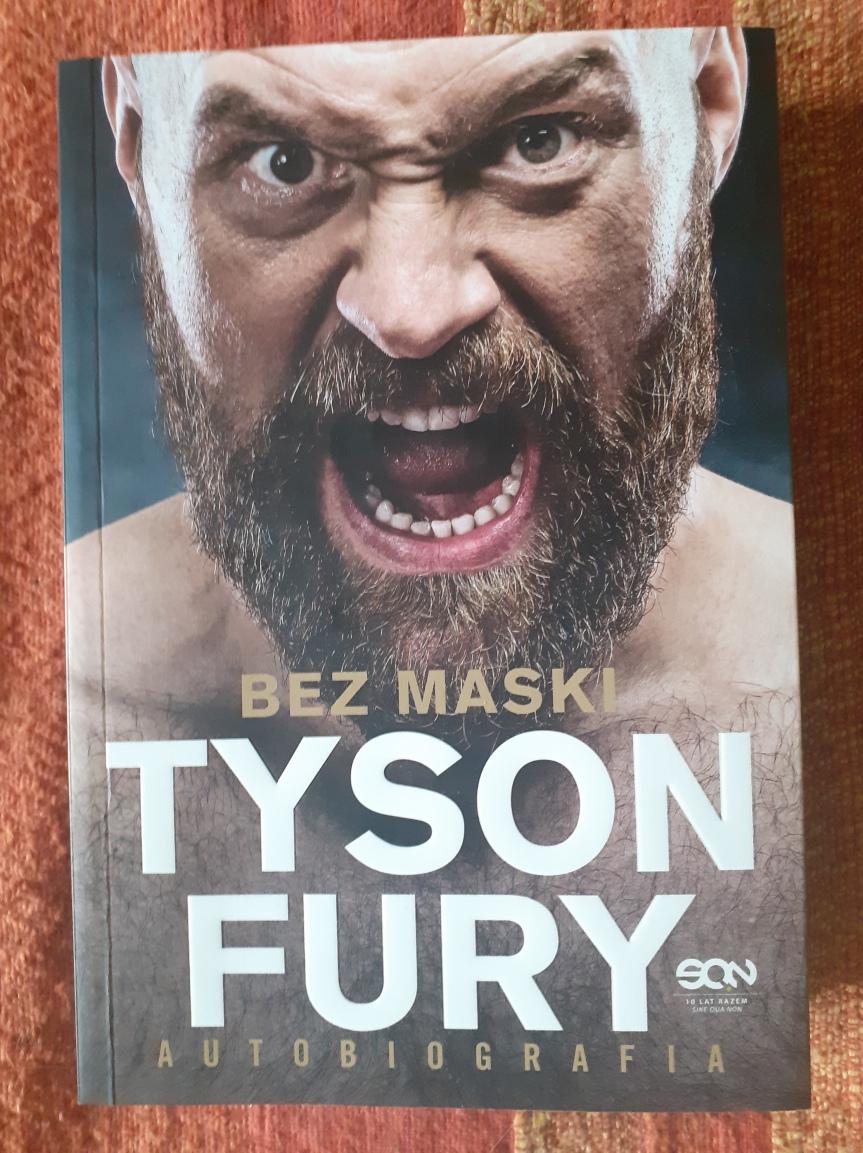 """""""Bez maski. Tyson Fury Autobiografia"""" – Mistrz Świata pokazuje prawdziwątwarz"""