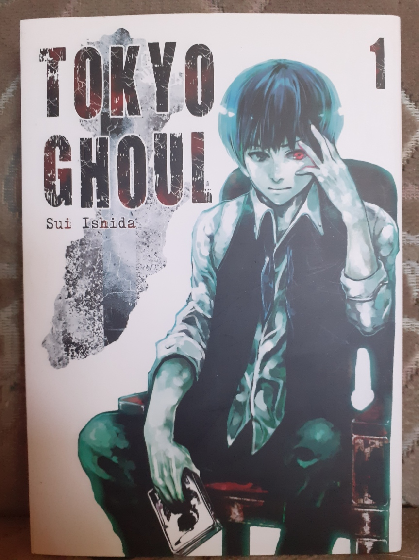 """Tokyo Ghoul"" Tom I – Zombie pojapońsku"