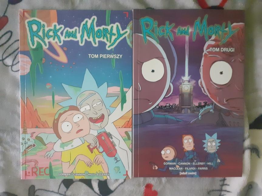 """""""Rick and Morty"""" Tom I i II – Szalony dziadek i jego wnuk podbijająkomiks"""