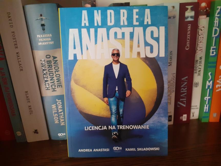 """""""Andrea Anastasi. Licencja na trenowanie"""" – Trener, który żyjesiatkówką"""