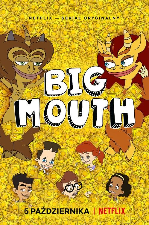 """""""Big Mouth"""" sezon 1. – Wielkie buźki, wielkie słowa, wielkiśmiech"""