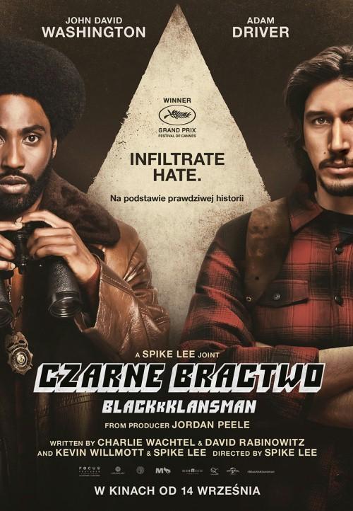 """Recenzja filmu """"Czarne bractwo. BlacKkKlansman"""""""
