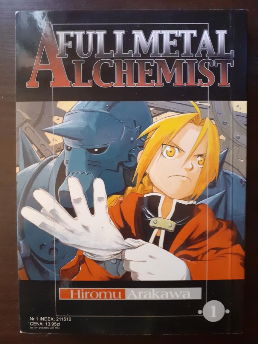 """""""Fullmetal Alchemist"""" Tom I – To nie czary, tonauka"""