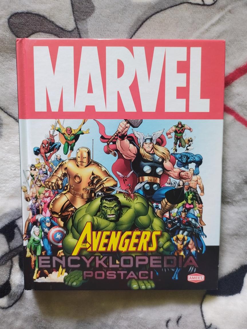 """""""Marvel Avengers. Encyklopedia Postaci"""" – Wielki światbohaterów"""