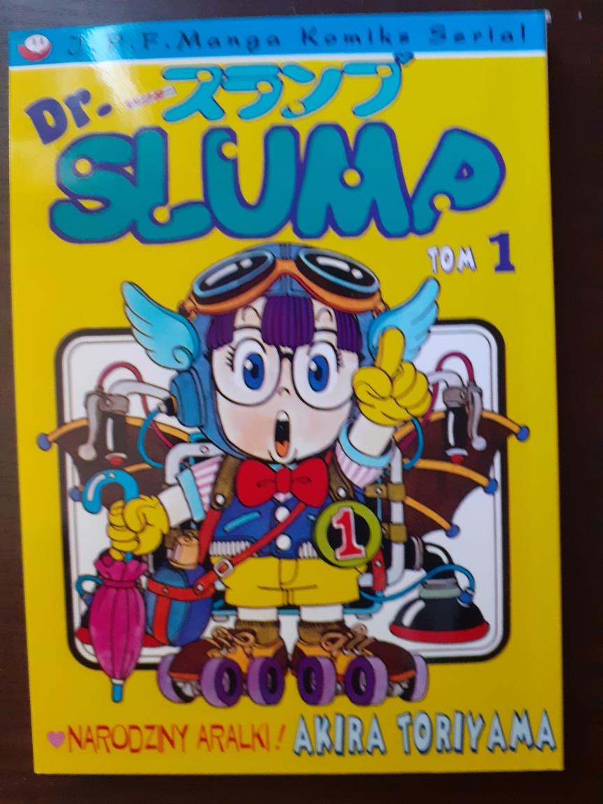 """""""Dr Slump"""" tom I – Poznajcie doktora z śmieszkowejkrainy"""