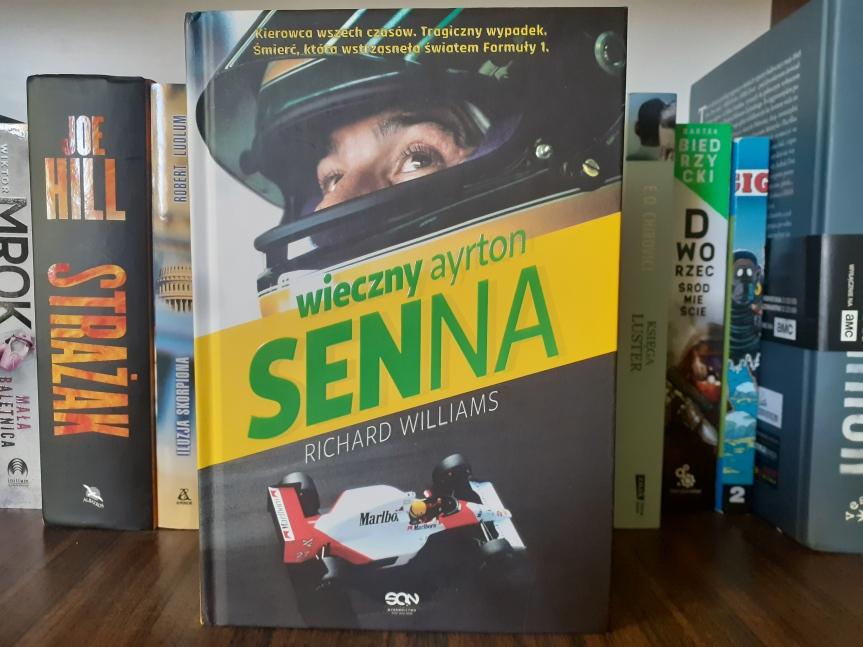 """""""Wieczny Ayrton Senna"""" – Człowiek, który żyłformułą"""