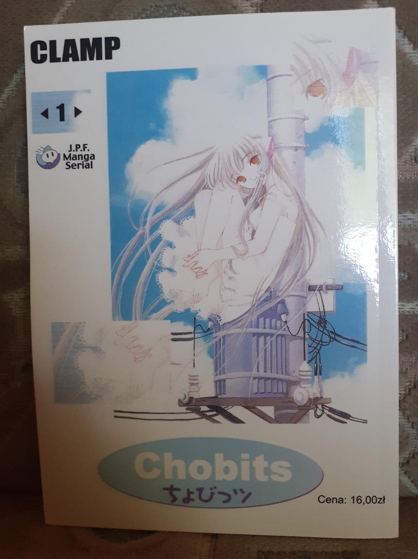 """Chobits"" Tom I – Androidy, ludzie ikomedia"