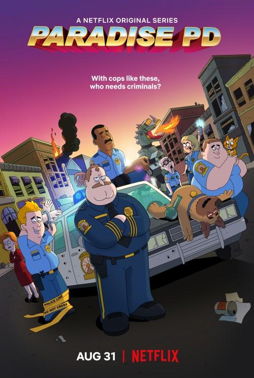 """""""Paradise PD"""" sezon 1. – Z tą policją nie chceszzadzierać"""