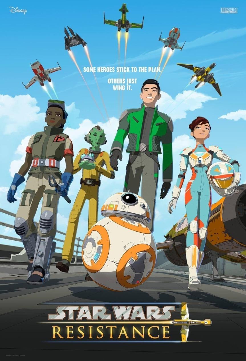 """""""Star Wars Resistance"""" sezon 1. – Poznajcie przystań dla gwiezdnychpilotów"""