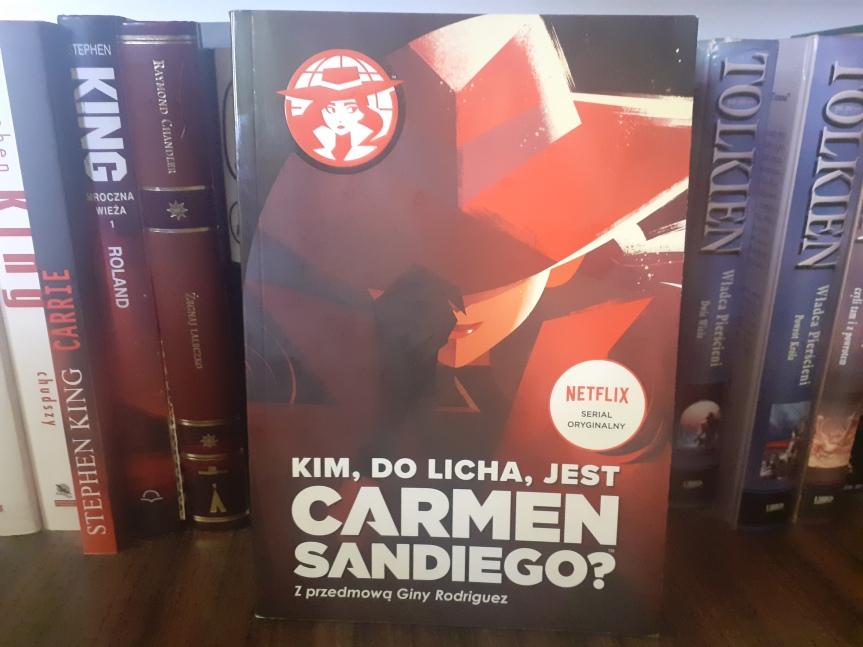 """""""Kim, do licha, jest Carmen Sandiego?"""" – Książka dla fanówserialu"""