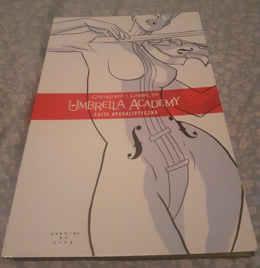 """""""Umbrella Academy Tom 1: Suita Apokaliptyczna"""" – Rodzinne niesnaski w oryginalnymstylu"""