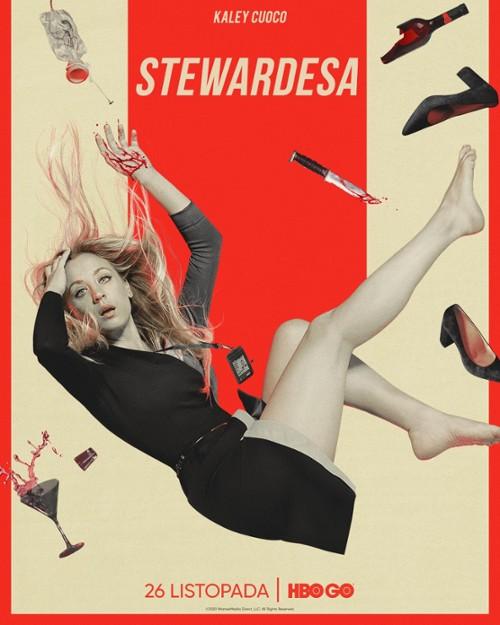 """""""Stewardesa"""" sezon 1. – Niespodziewana przygoda kobiety zproblemami"""