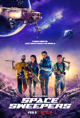 """Space Sweepers"" – Koreańskie kino familijne wkosmosie"