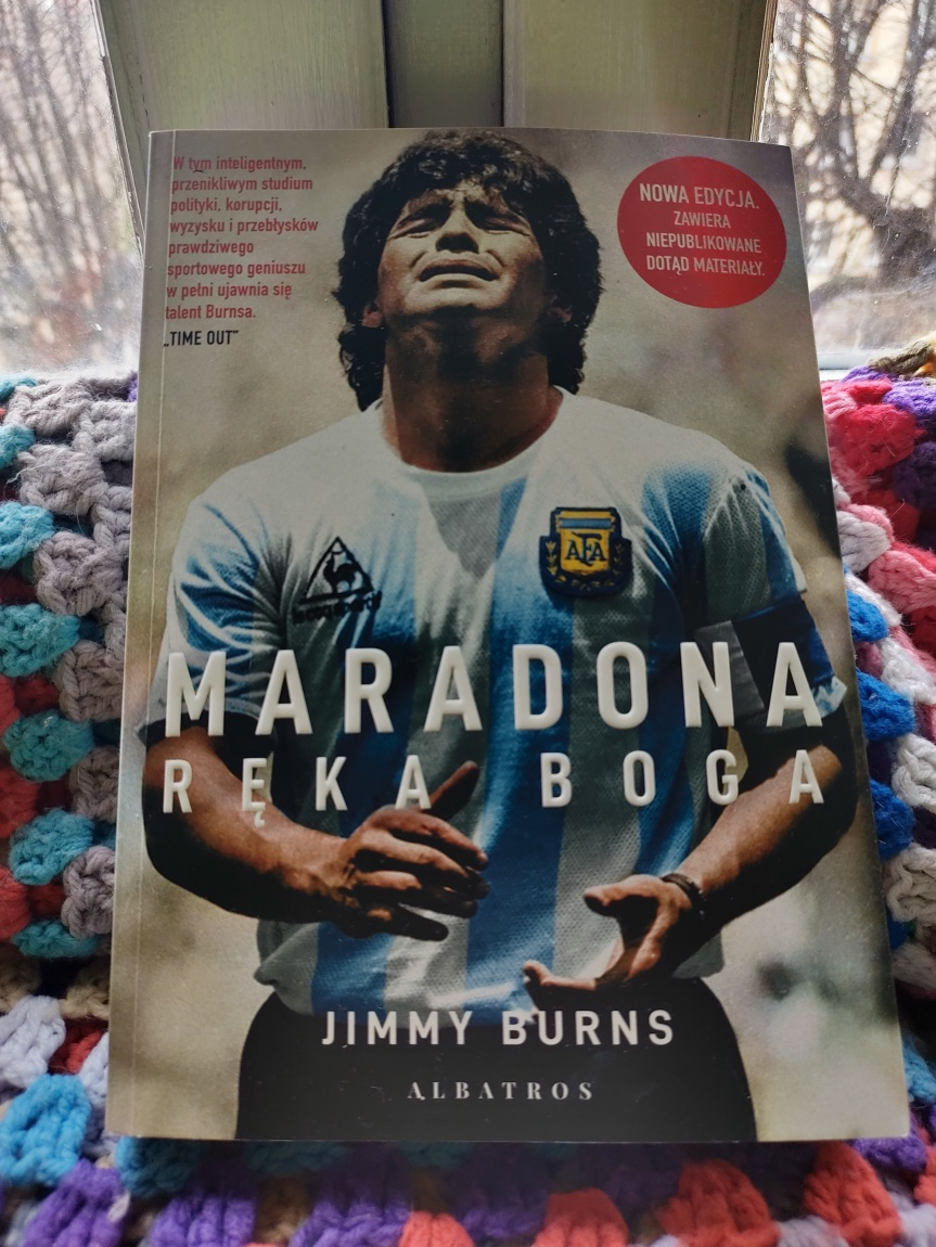 """Maradona. Ręka Boga"" Jimmy'ego Burnsa –recenzja"