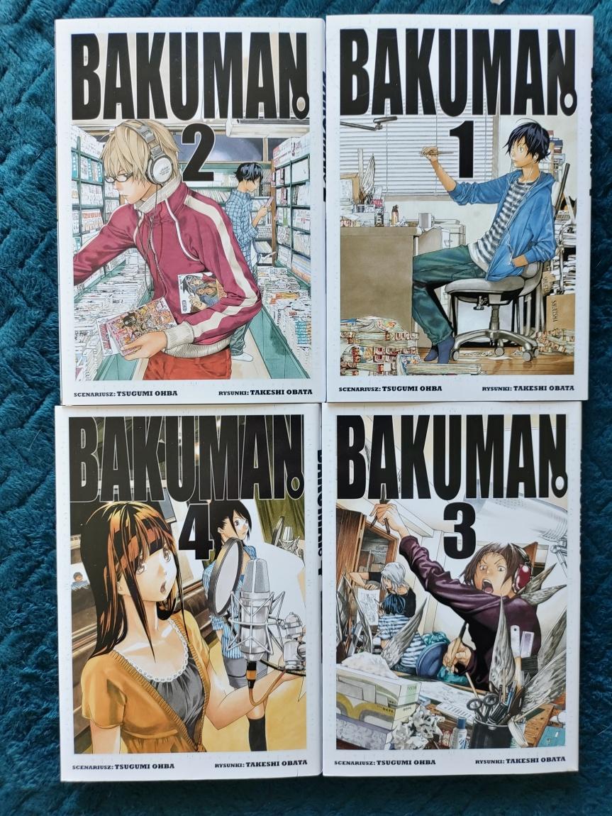 Bakuman – Tomy1-4