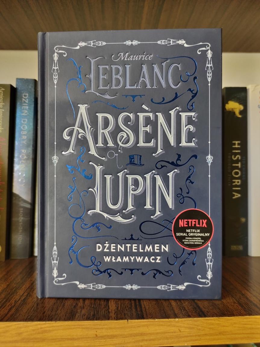 Arsene Lupin, dżentelmen włamywacz – recenzjaksiążki