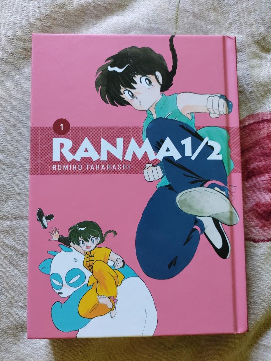Recenzja mangi Ranma 1/2 (wydanie specjalne) Tom1