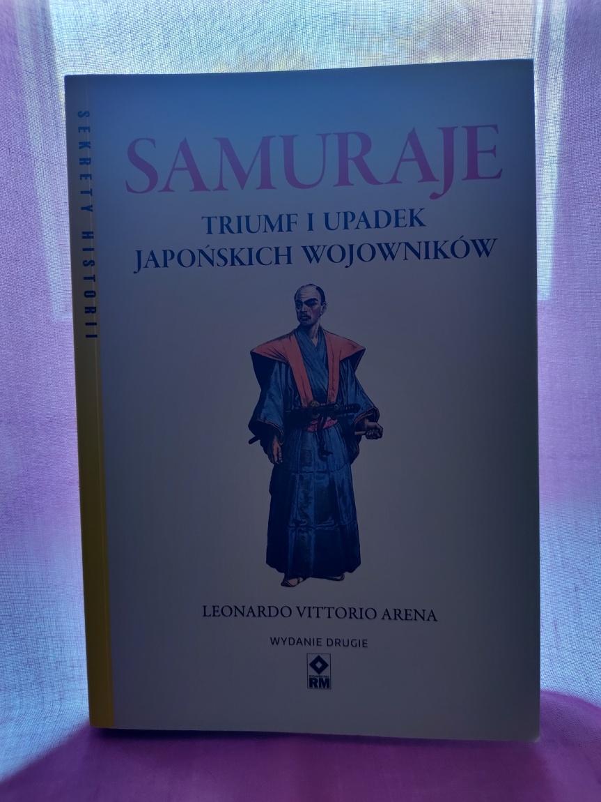 """Okładka książki """"Samuraje"""""""