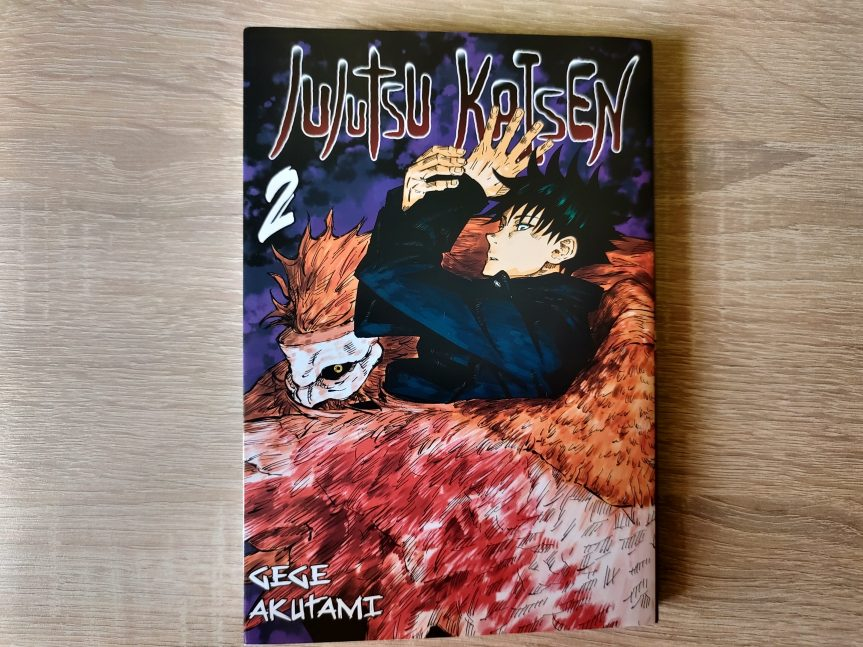 "Recenzja mangi ""Jujutsu Kaisen"" – tom2"