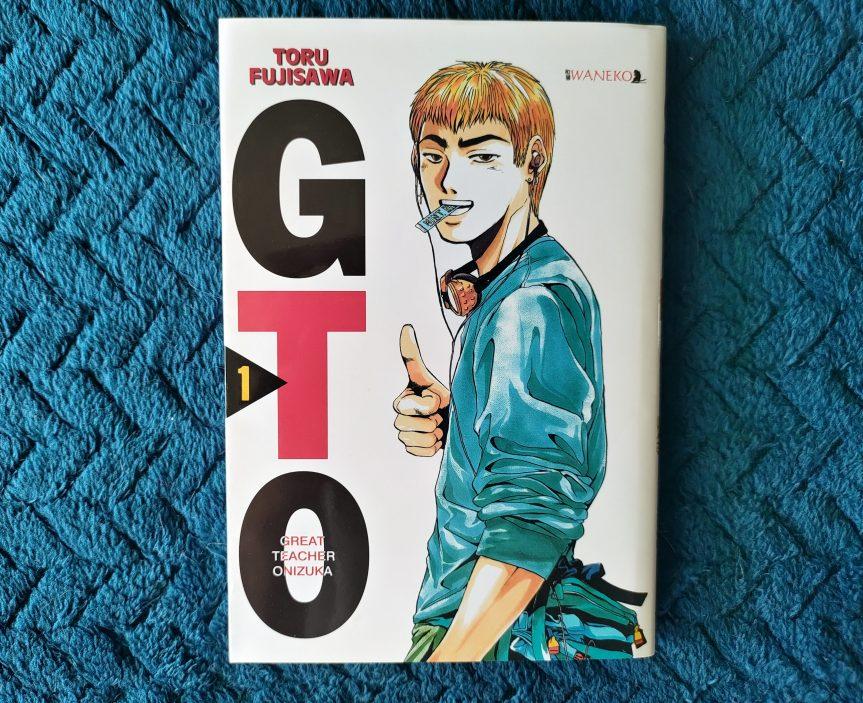 """Recenzja mangi """"Great Teacher Onizuka"""" Tom1"""