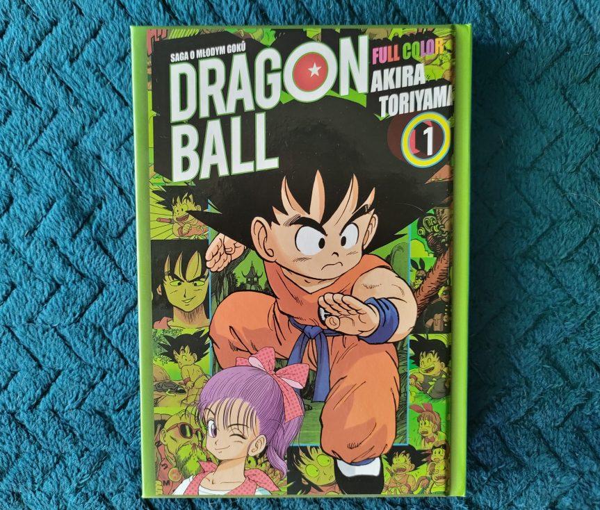 """Recenzja mangi """"Dragon Ball Full Color"""" Tom1"""