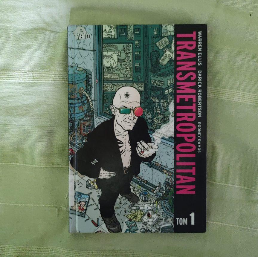 """Recenzja komiksu """"Transmetropolitan"""" Tom1"""