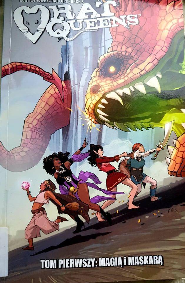 """Recenzja komiksu """"Rat Queens"""" Tom1"""